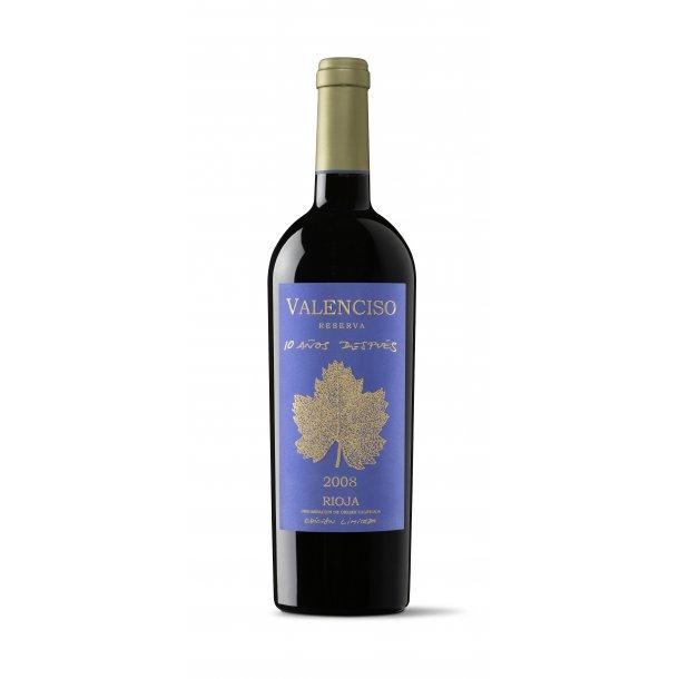 Valenciso Rioja Reserva 10 Años Después 2008