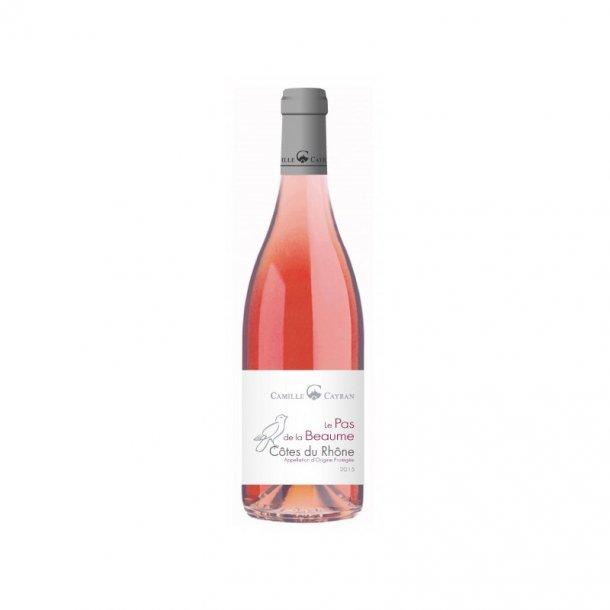 Camille Cayran Le Pas de la Beaume Côtes du Rhône Rosé 2018