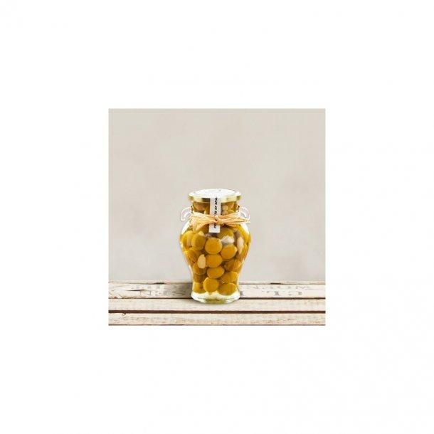 Grønne Manzanilla  oliven.u/sten.