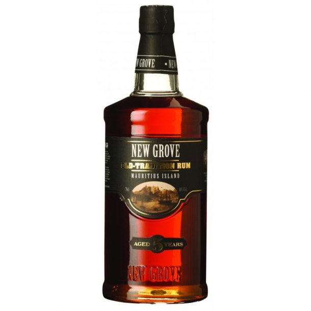 New Grove Old-tradition Rum Aged 5 years 70 cl. - 40%
