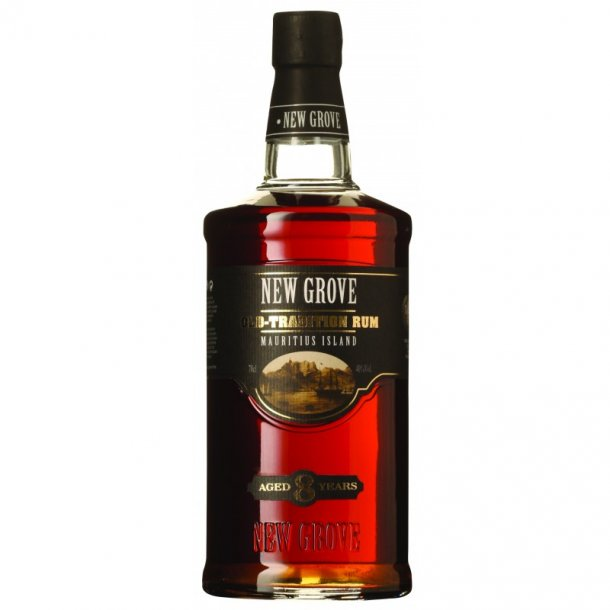 New Grove Old-tradition Rum Aged 8 years 70 cl. - 40%