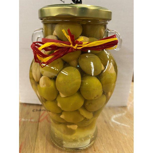 Gourmet Oliven m. mandler