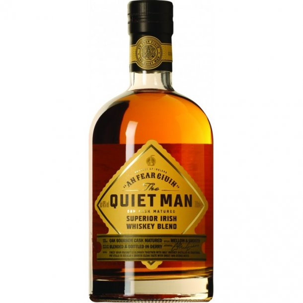 The Quiet Man Blended Traditional Irish Whiskey